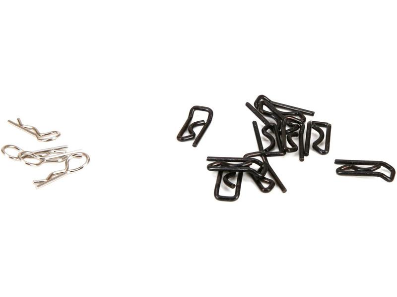 DBXL 1:5: Sponky karosérie velké (10) + malé (4) LOS256005