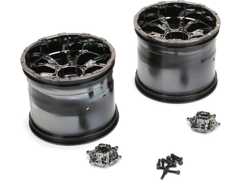 LST XXL-2: Disk kola 420S Force černý chrom (2) LOS44000