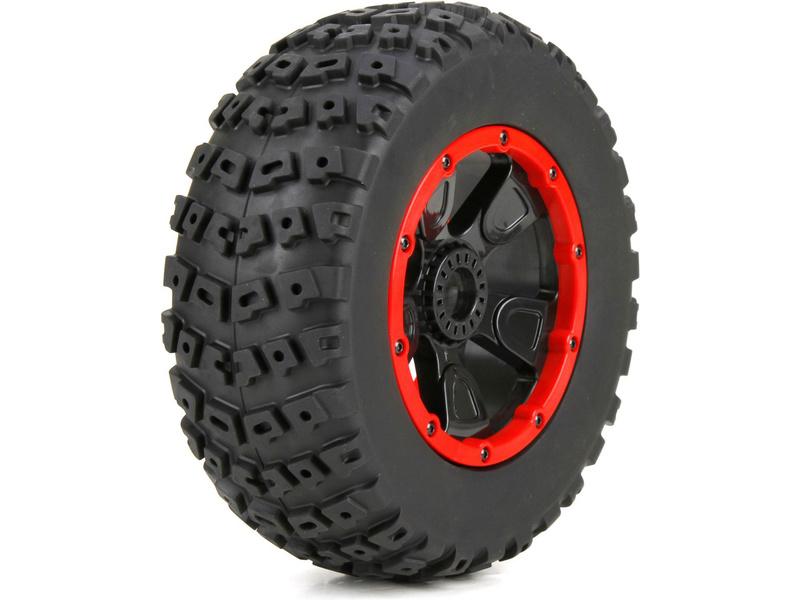 DBXL 1:5: Kolo s pneu levé a pravé (1sada) LOS45004