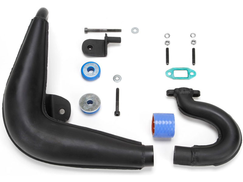 DBXL 1:5: Laděný výfuk benzínového motoru 23-30cc LOS55000