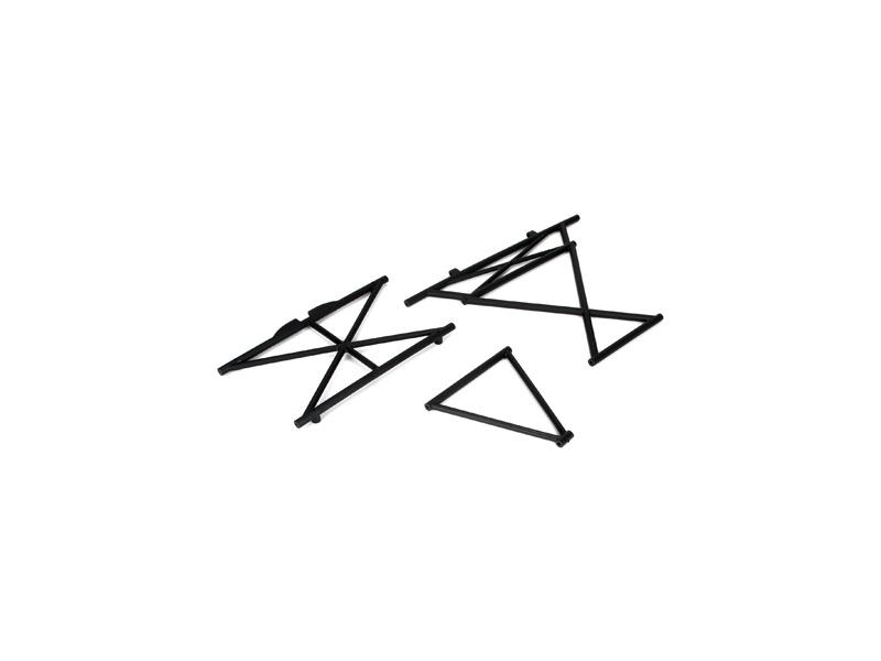 5IVE-T: Horní část přední a centrální části rámu LOSB2578