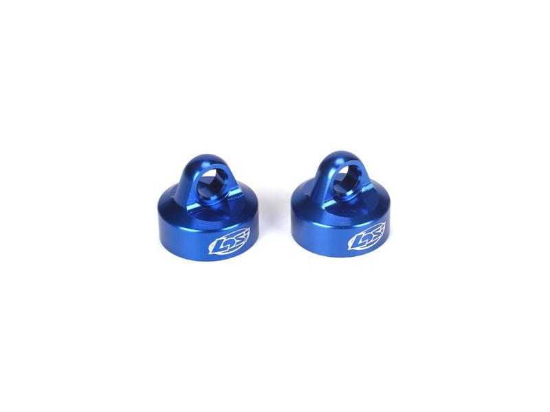5IVE-T: Horní uzávěr tlumiče hliník modrý (2) LOSB2858