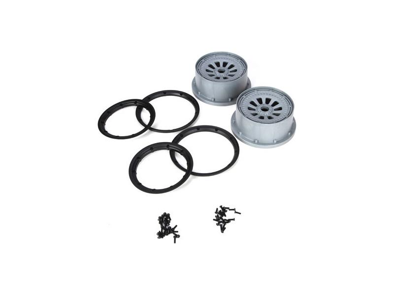 5TT: Disky s pojistnými kroužky a šrouby (2) LOSB7027