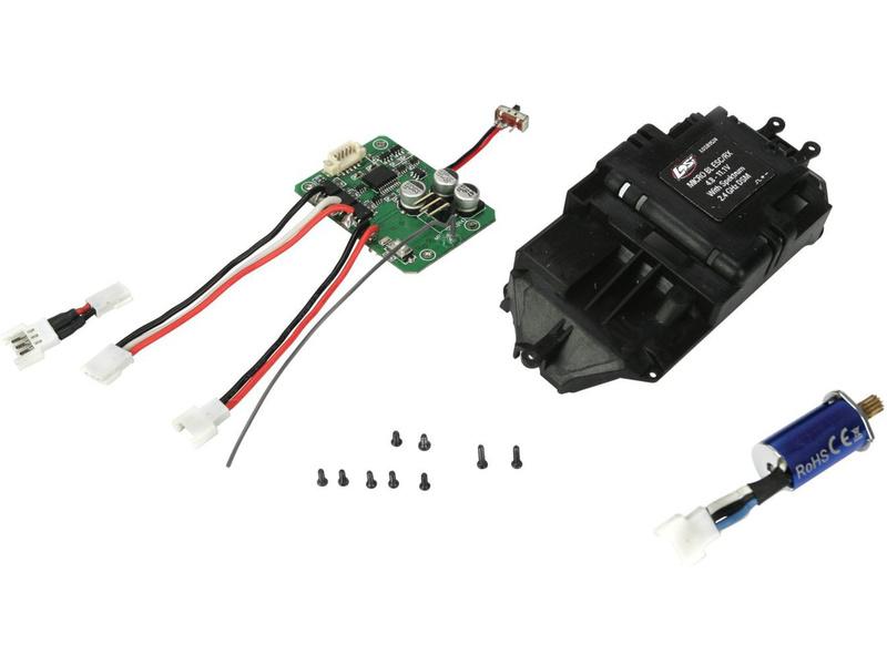 Losi Micro: Konverzní kit 2.4GHz s motorem 8750Kv