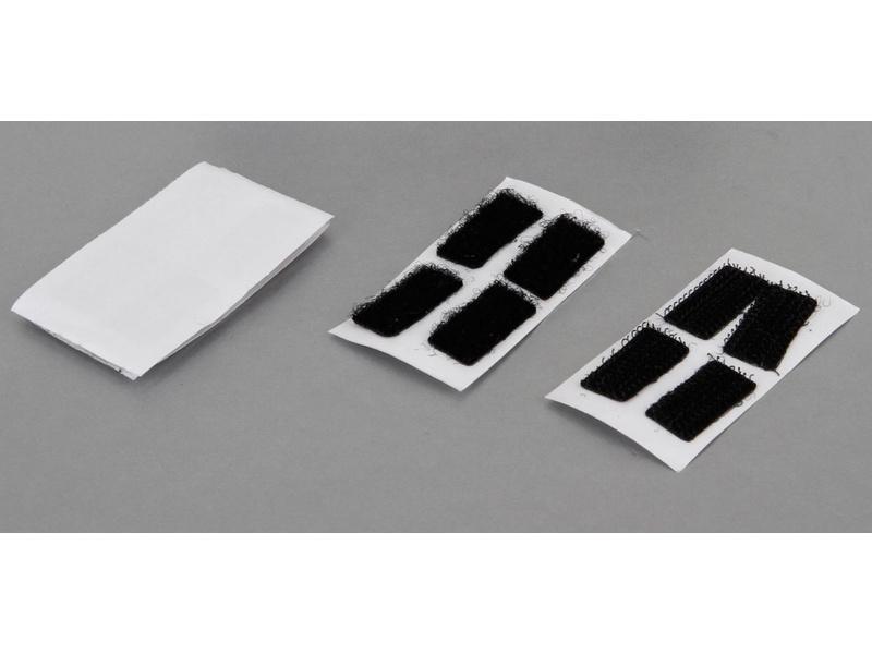 TLR 22 2.0: Suchý zip karosérie 10 x 20mm (8) TLR230003