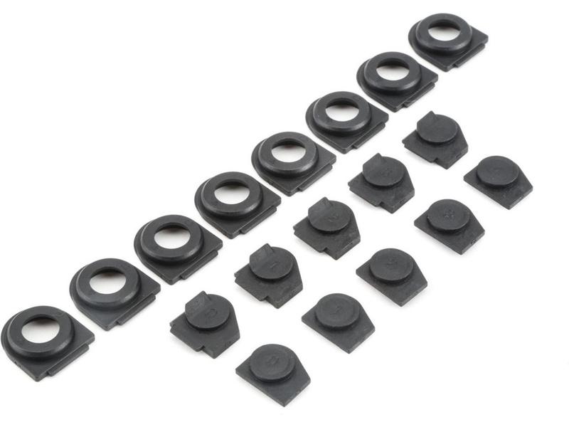 TLR 22-4 2.0: Vložky nastavení řemínku TLR232042