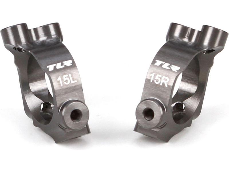 TLR 22-4: C-Hub blok hliník 15° TLR234026