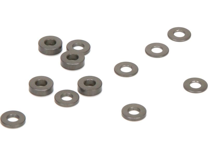 TLR 22-4: Vložky caster bloku hliník (4) TLR236005