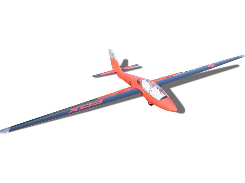 Tomahawk Fox 3.5m FRP červeno/modrý ARF