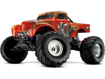 Traxxas Monster Jam 1:10 Captain´s Curse RTR / TRA3602G