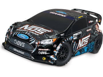 Traxxas Ford Fiesta ST Rally 1:10 4WD TQ RTR / TRA74054-6