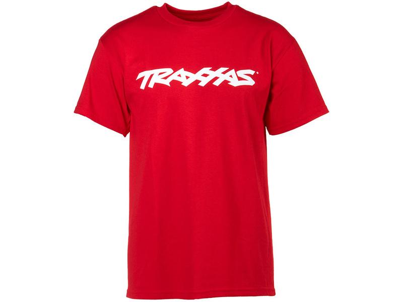 Traxxas tričko s logem TRAXXAS červené S