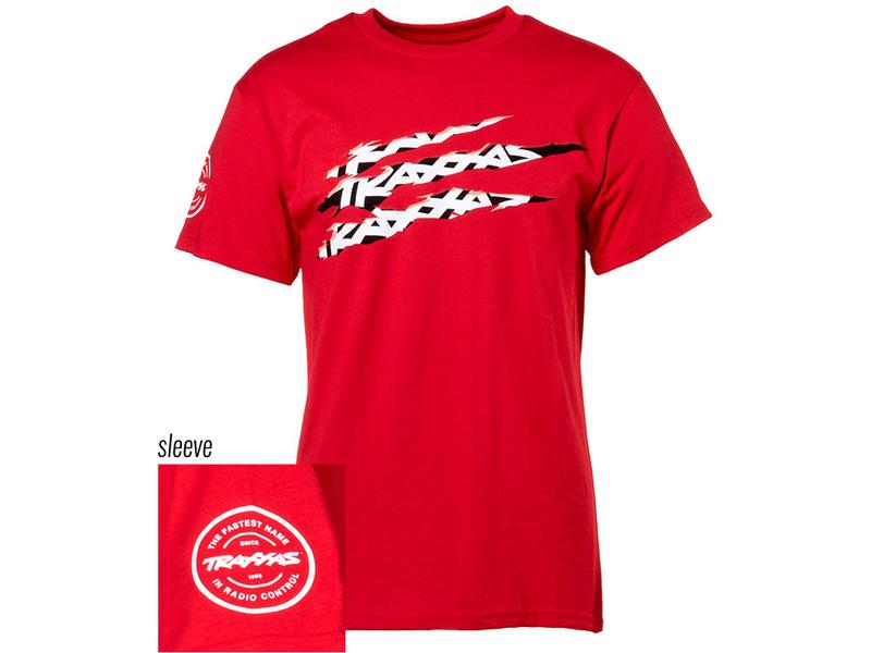Traxxas tričko SLASH červené L