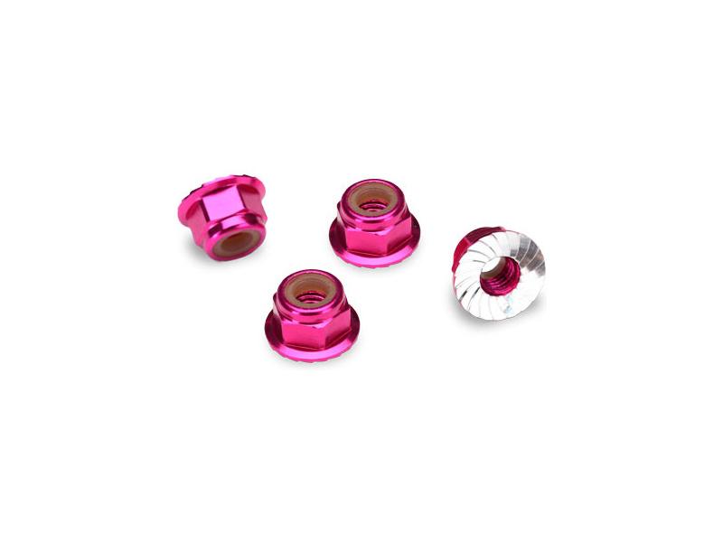 Traxxas matice M4 samojistná s límcem růžová (4), Traxxas 1747P , TRA1747P