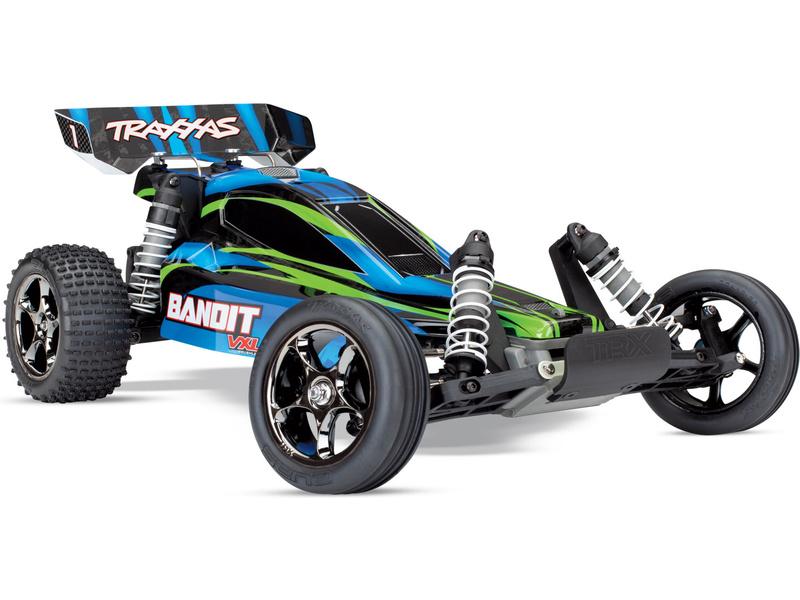 Traxxas Bandit 1:10 VXL TQi RTR modrý, TRA24076-4-BLU, Traxxas 24076-4-BLU