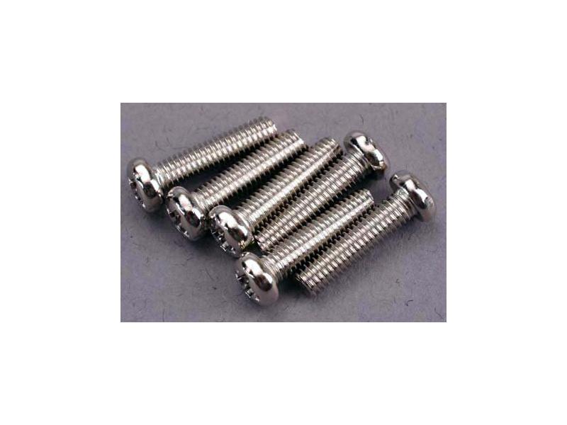 Šroub křížový půlkulatá hlava zink. M3x12mm (6), Traxxas 2561 , TRA2561