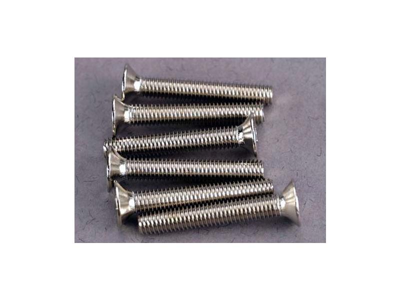 Šroub imbus zapuštěná hlava zink. M3x20mm (6), Traxxas 2590 , TRA2590