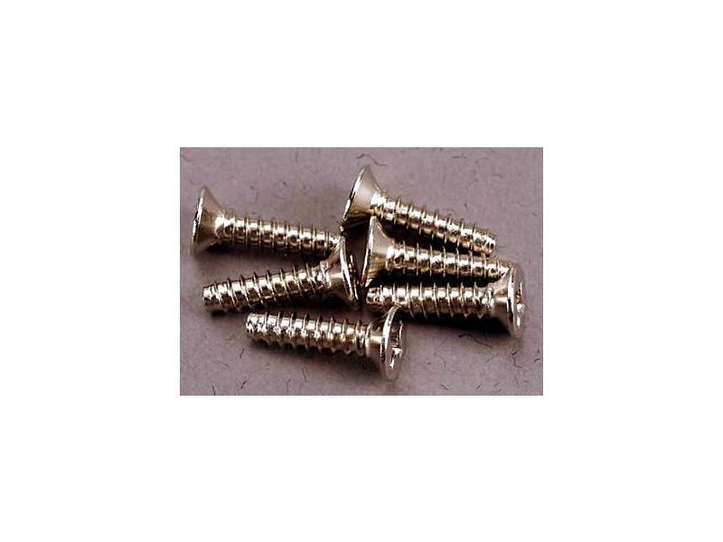 Vrut křížový zapuštěná hlava zink. 3x12mm (6), Traxxas 2648 , TRA2648