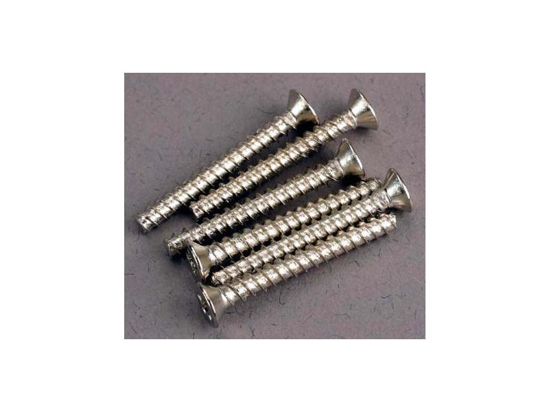Vrut křížový zapuštěná hlava zink. 3x25mm (6), Traxxas 2651 , TRA2651