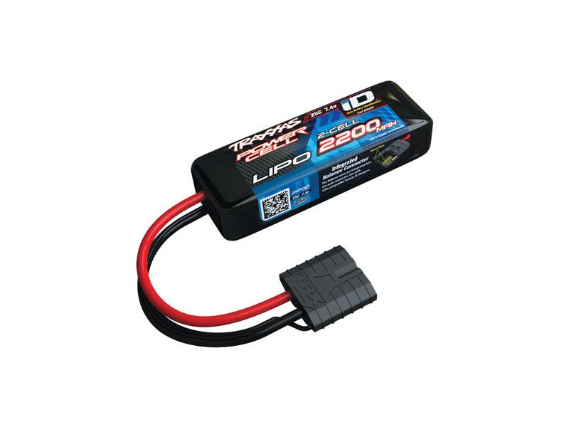 Traxxas LiPo baterie 7.4V 2200mAh 25C iD