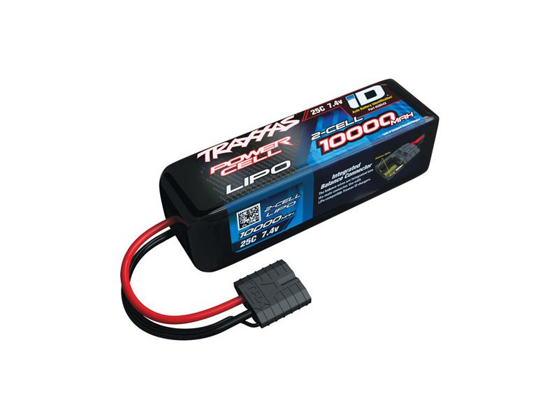 Traxxas LiPo baterie 7.4V 10000mAh 25C iD