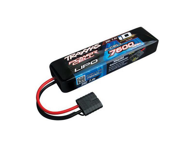 Traxxas LiPo baterie 7.4V 7600mAh 25C iD, TRA2869X, Traxxas 2869X