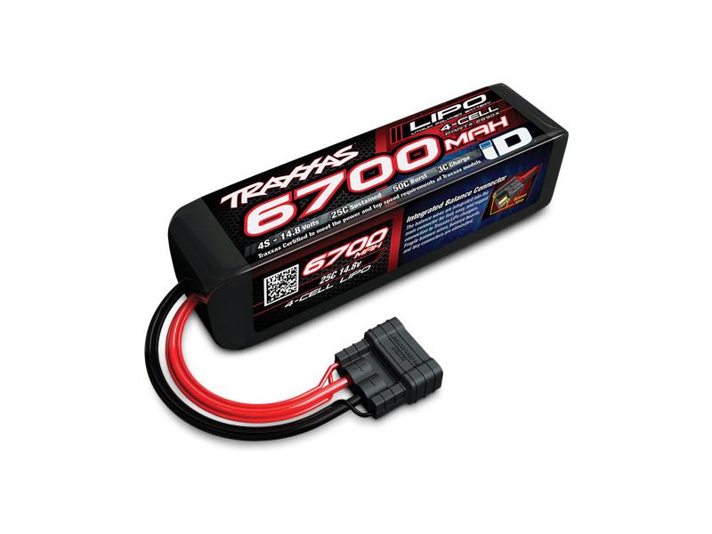 Traxxas LiPo baterie 14.8V 6700mAh 25C iD, TRA2890X, Traxxas 2890X