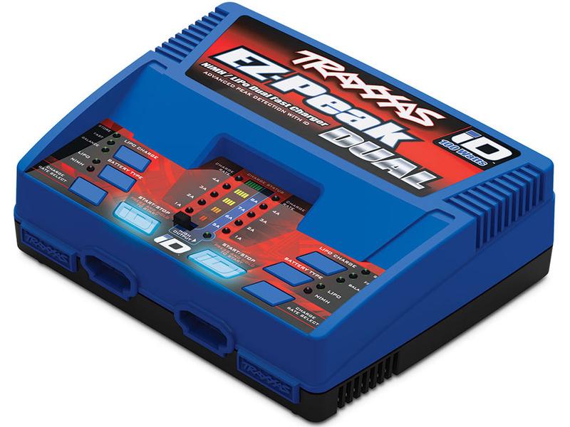 Traxxas nabíječ EZ-Peak Plus LiPo/NiMH Dual 2x50W, TRA2972G, Traxxas 2972G