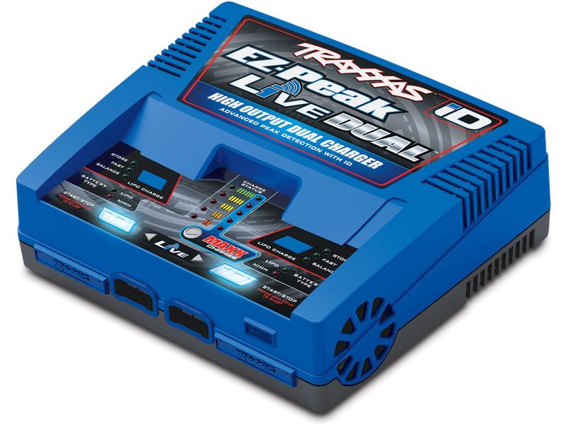 Traxxas nabíječ EZ-Peak Live Dual 2x100W, TRA2973G, Traxxas 2973G