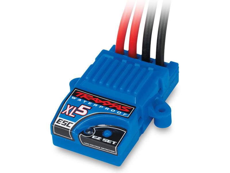 Traxxas - stejnosměrný regulátor XL-5 LVD, TRA3018R, Traxxas 3018R