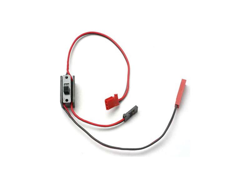 Vypínač s kabely pro napájení přijímače, Traxxas 3035 , TRA3035