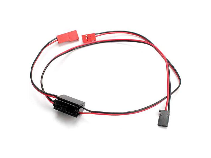 Vypínač s kabely pro napájení přijímače, Traxxas 3038 , TRA3038