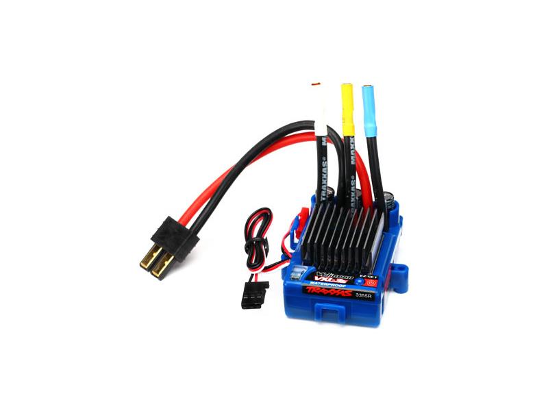 Střídavý regulátor Velineon VXL-3S V2, Traxxas 3355R , TRA3355R