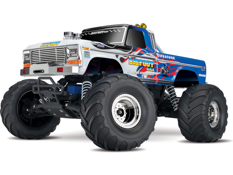 Traxxas Big Foot 1:10 RTR Flame, TRA36034-1-FLM