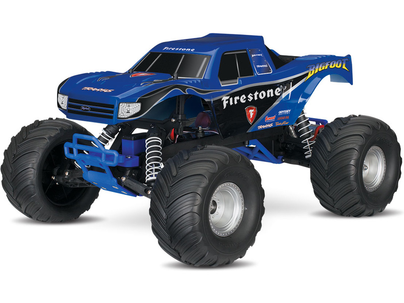 Traxxas Big Foot 1:10 RTR modrý, TRA36084-1-FST
