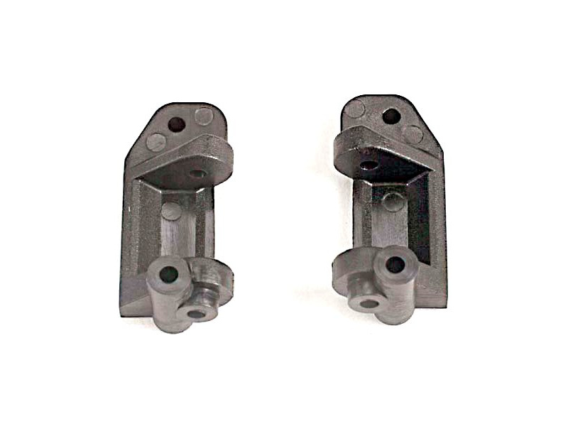 Traxxas - závěs těhlice plast 30° šedé (L+P), TRA3632, Traxxas 3632