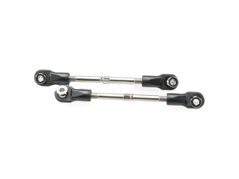 Stavitelná tyč závěsu 95mm s koncovkami (2), TRA3745, Traxxas 3745