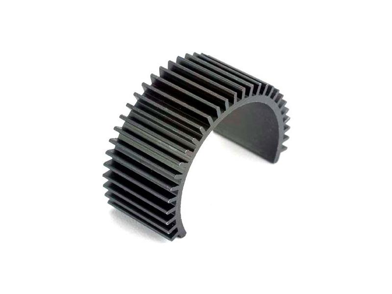 Blast - chladič motoru hliníkový černý, TRA3822, Traxxas 3822