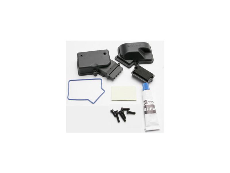E-Maxx/Slash - krabička přijímače, příslušenství, TRA3924, Traxxas 3924