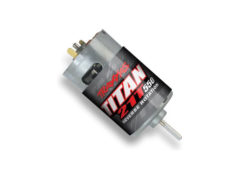 Traxxas - motor Titan 550 21T 14V Revers, TRA3975R, Traxxas 3975R