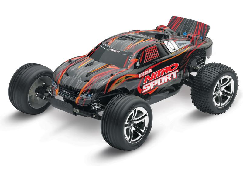 Traxxas Nitro Sport 1:10 RTR, TRA45104-1