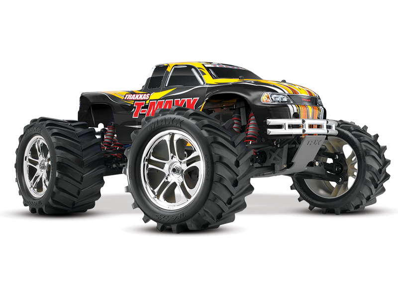 Traxxas Nitro T-Maxx Classic 1:8 RTR černý