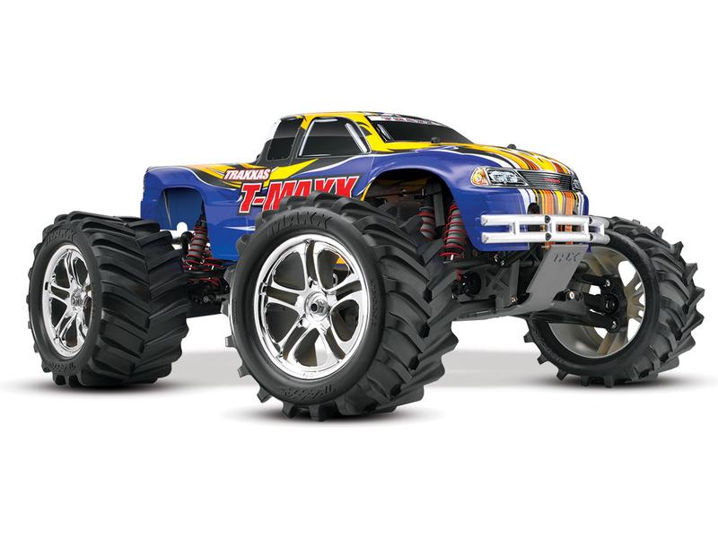 Traxxas Nitro T-Maxx Classic 1:8 RTR modrý