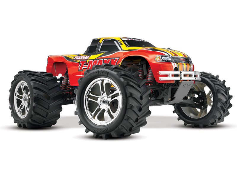 Traxxas Nitro T-Maxx Classic 1:8 RTR červený