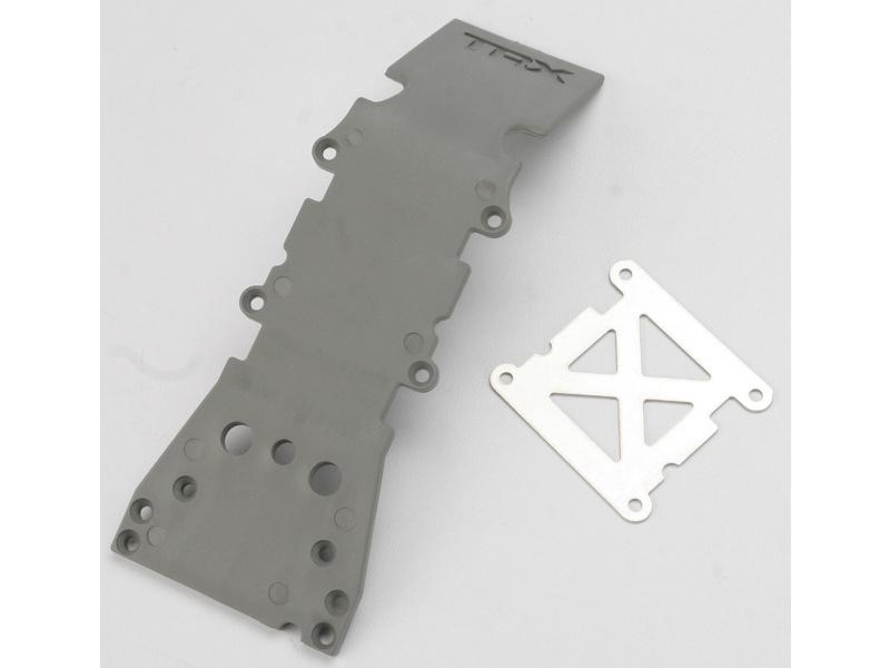S-Maxx/E-Maxx - kryt přední nápravy šedý, TRA4937A, Traxxas 4937A