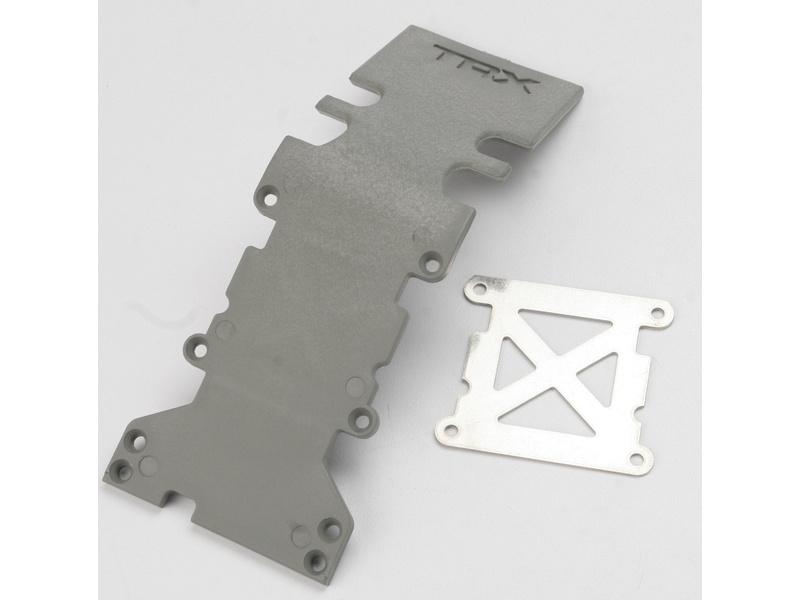 S-Maxx/E-Maxx - kryt zadní nápravy šedý, TRA4938A, Traxxas 4938A