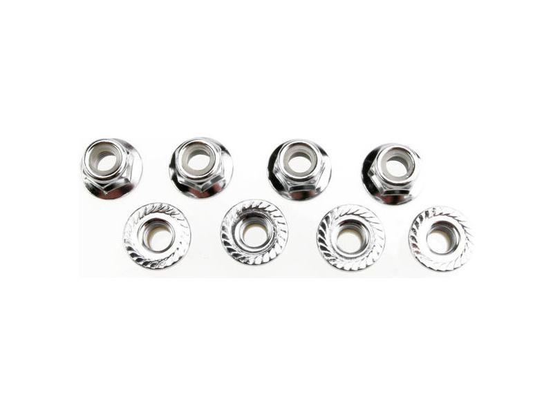 Matice s přír. samojistná ocel zink. M5 (8), TRA5147X, Traxxas 5147X