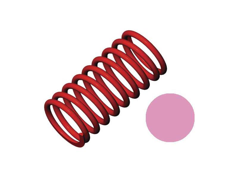 Pružina tlumiče GTR tuhost 5.4N/mm růžová (2), Traxxas 5443 , TRA5443
