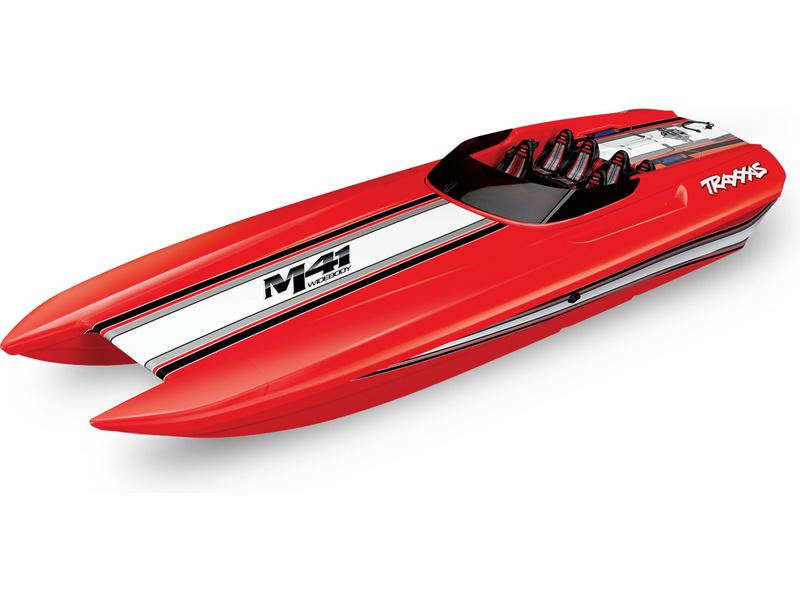Traxxas DCB M41 TQi RTR červená, TRA57046-4-RED