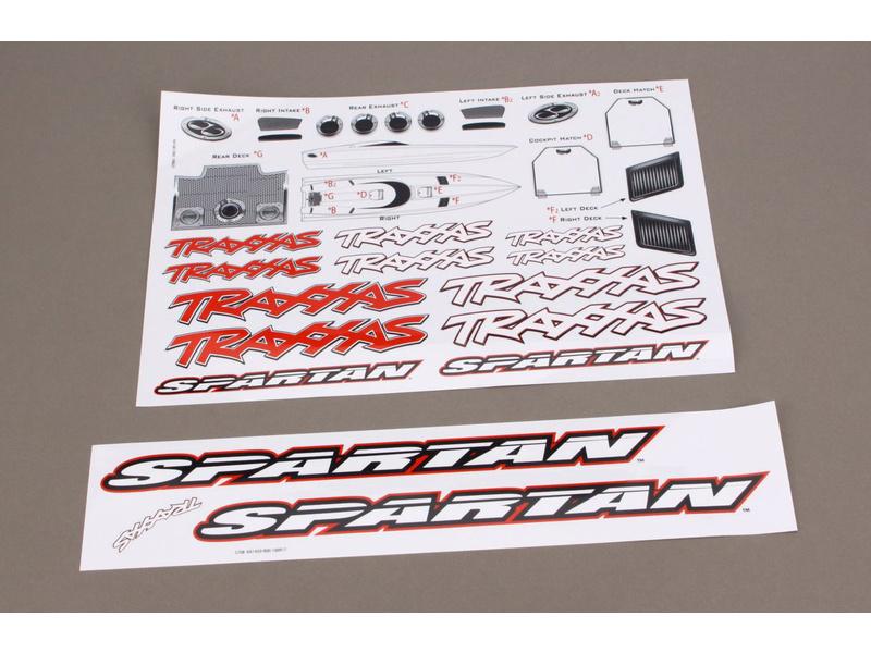 Spartan - samolepky, Traxxas 5713 , TRA5713